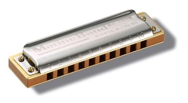 Die Hohner Marine Band Deluxe: mehr Spielkomfort und einfache Wartung